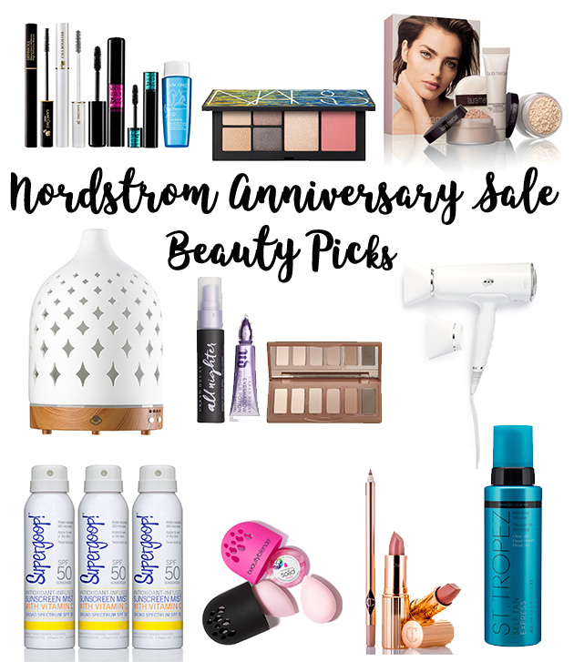 Top 10 Nordstrom Anniversary Sale Beauty Picks