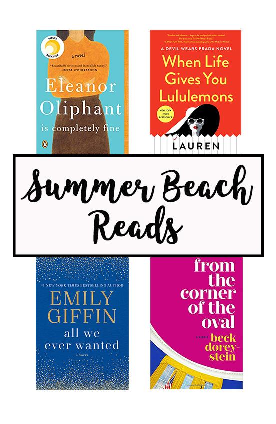 Summer Beach Reads Reading List