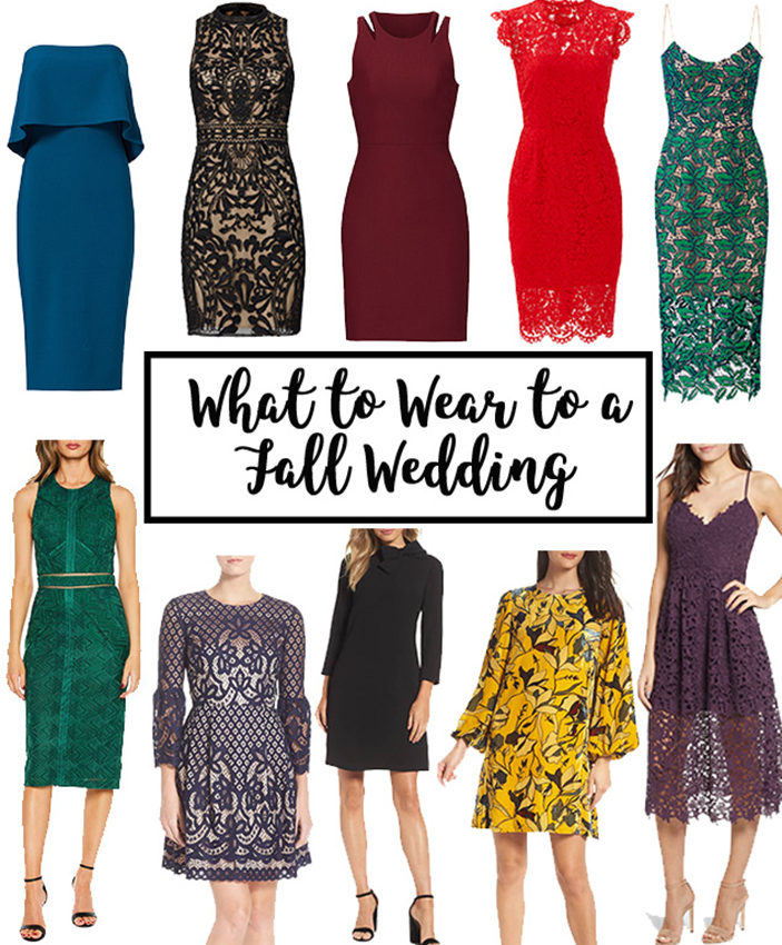 What to Wear to a Fall Wedding | Cobalt Chronicles | Washington, DC | Style Blogger
