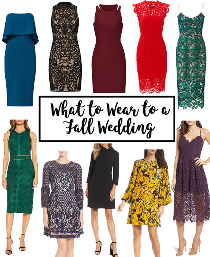 What to Wear to a Fall Wedding  Cobalt Chronicles