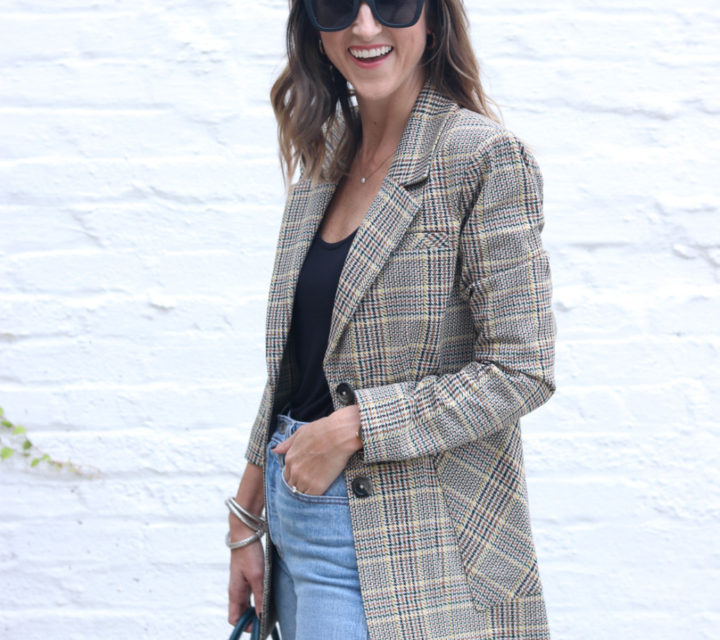 The Perfect Plaid Blazer | Cobalt Chronicles | Washington, DC | Style Blogger