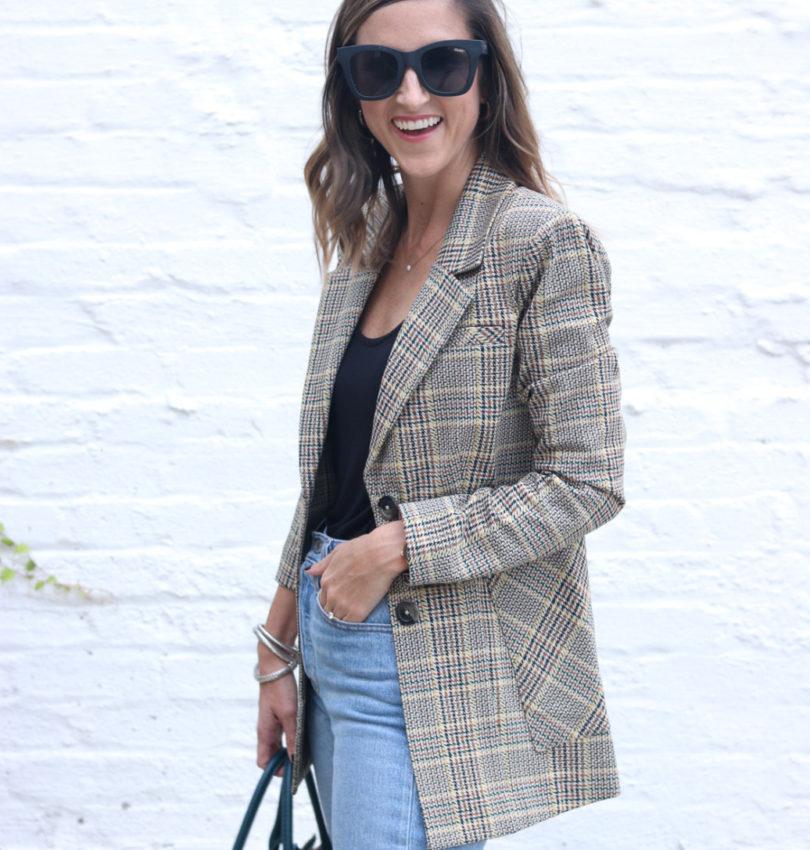 The Perfect Plaid Blazer | Cobalt Chronicles | Washington, DC | Style Blogger