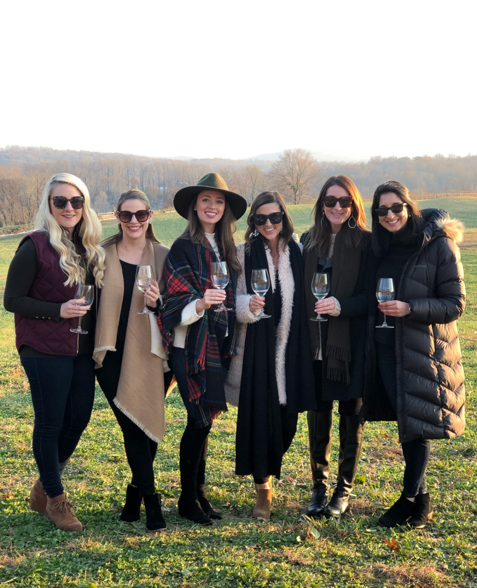 A Girls Trip to the Best Virginia Wineries | Cobalt Chronicles | Washington, DC | Style Blogger