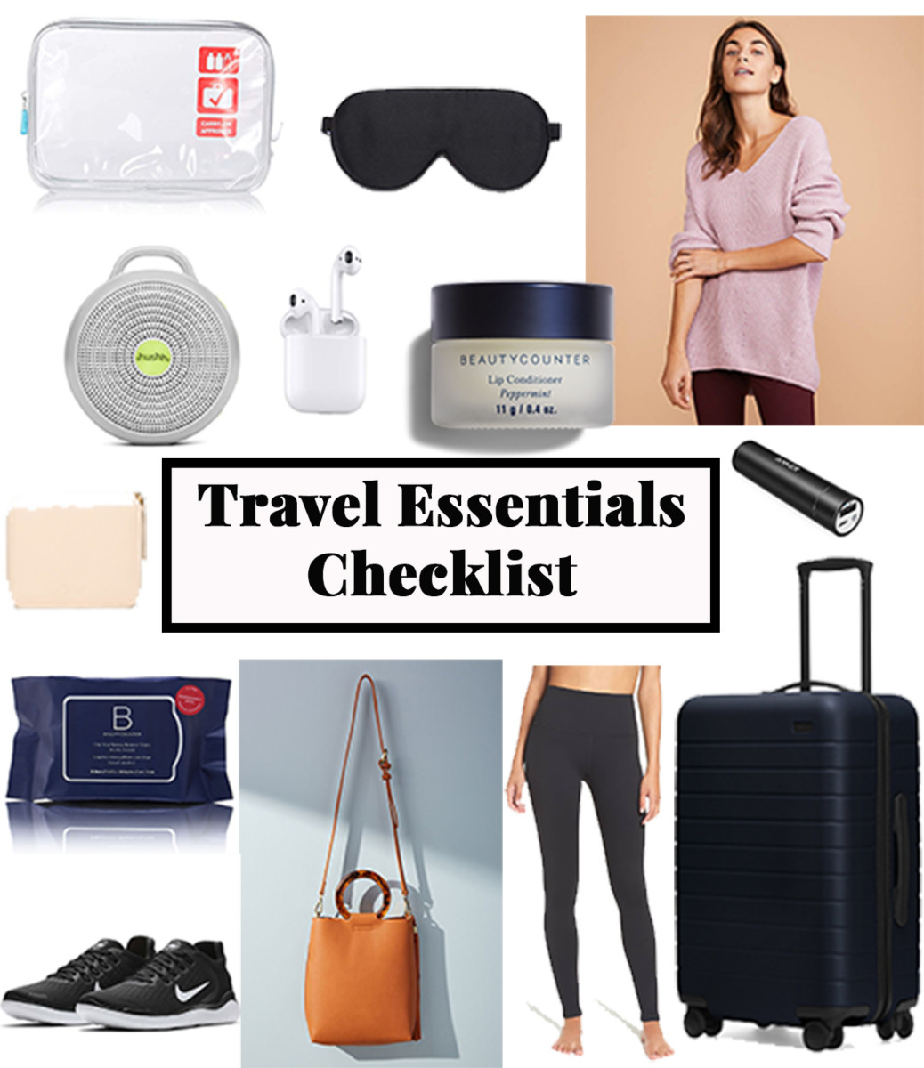 Travel Essentials Checklist | Cobalt Chronicles | Washington, DC | Style Blogger