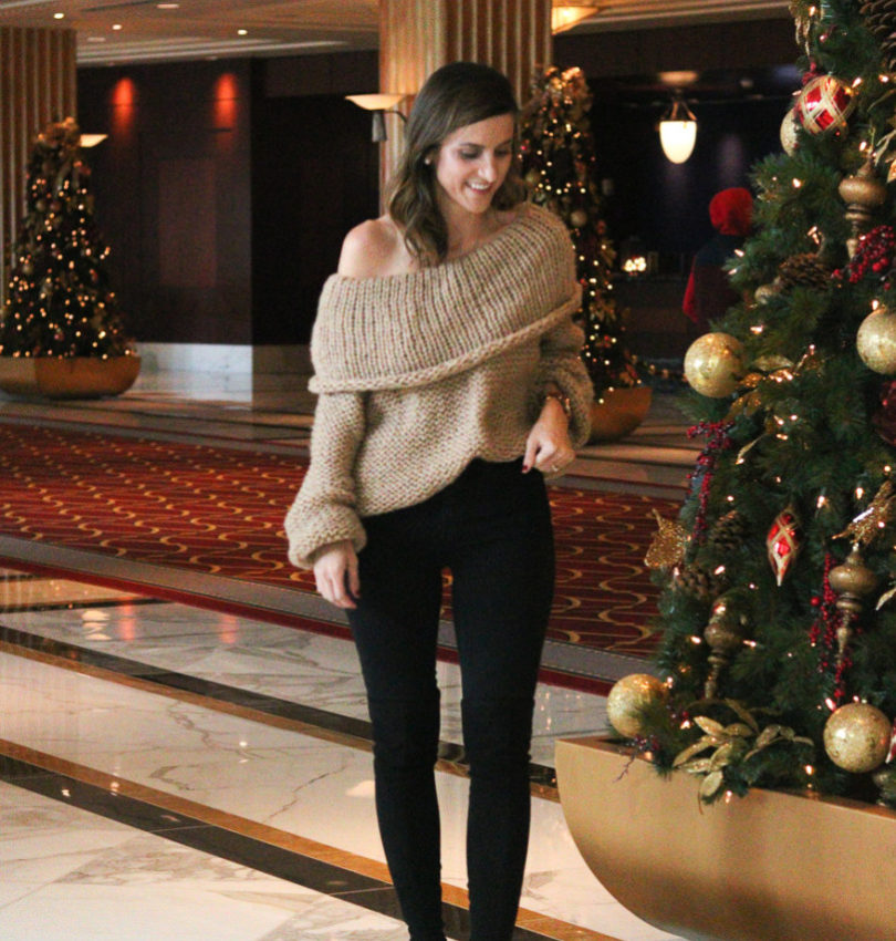 Christmas at Gaylord National Resort | Cobalt Chronicles | Washington, DC | Style Blogger