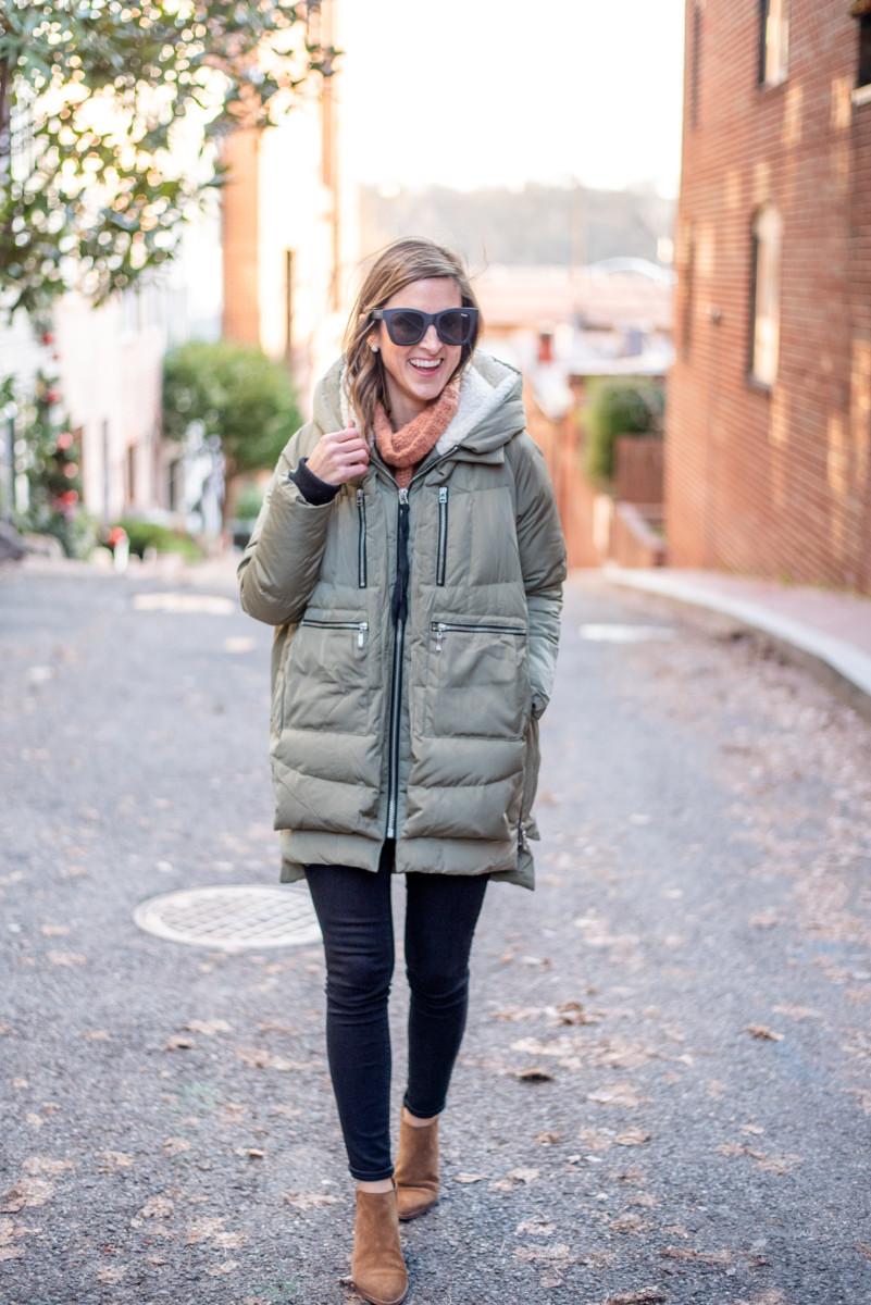 Winter Uniform   Free People Sweater   Cobalt Chronicles   Washington, DC   Style Blogger