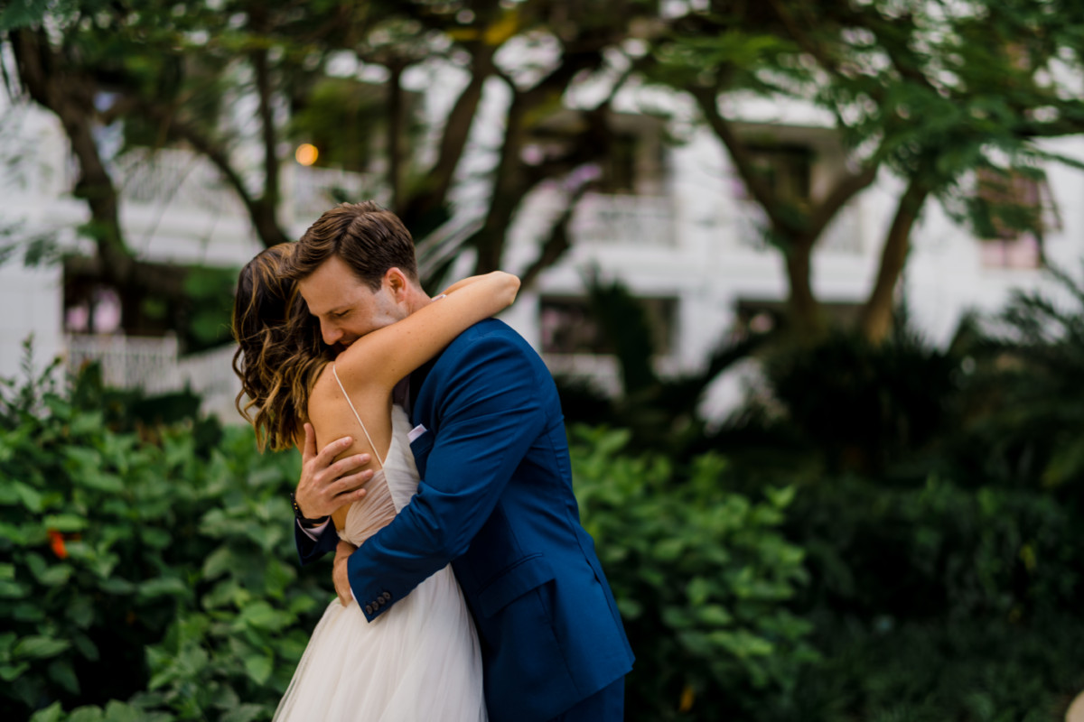 Wedding First Look   Cobalt Chronicles   Houston Lifestyle Blogger   Baha Mar Wedding