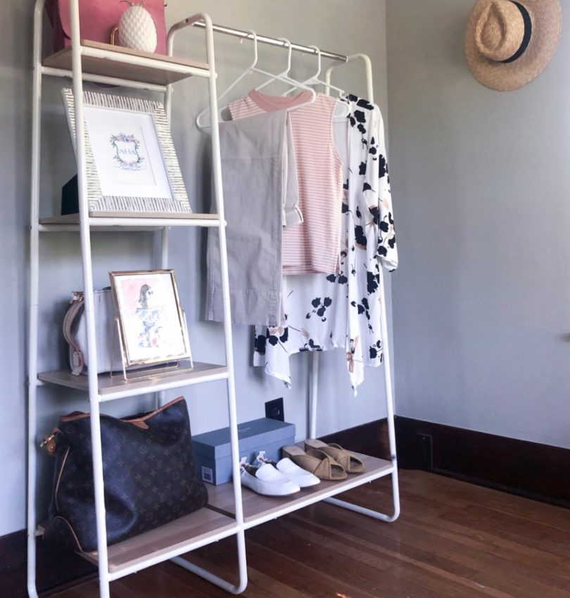 Home Office Garment Rack | Cobalt Chronicles | Houston Lifestyle Blogger | Week In Review