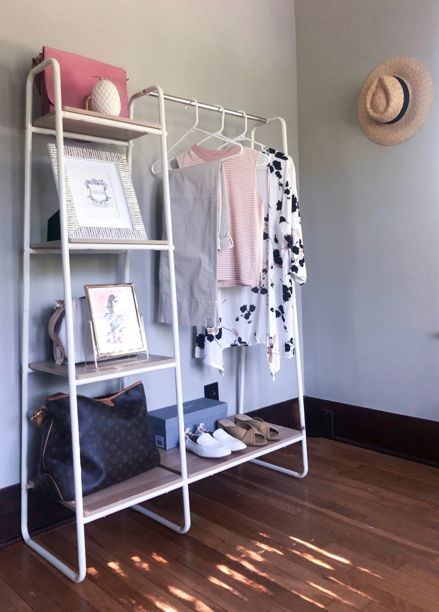 Home Office Garment Rack   Cobalt Chronicles   Houston Lifestyle Blogger   Week In Review