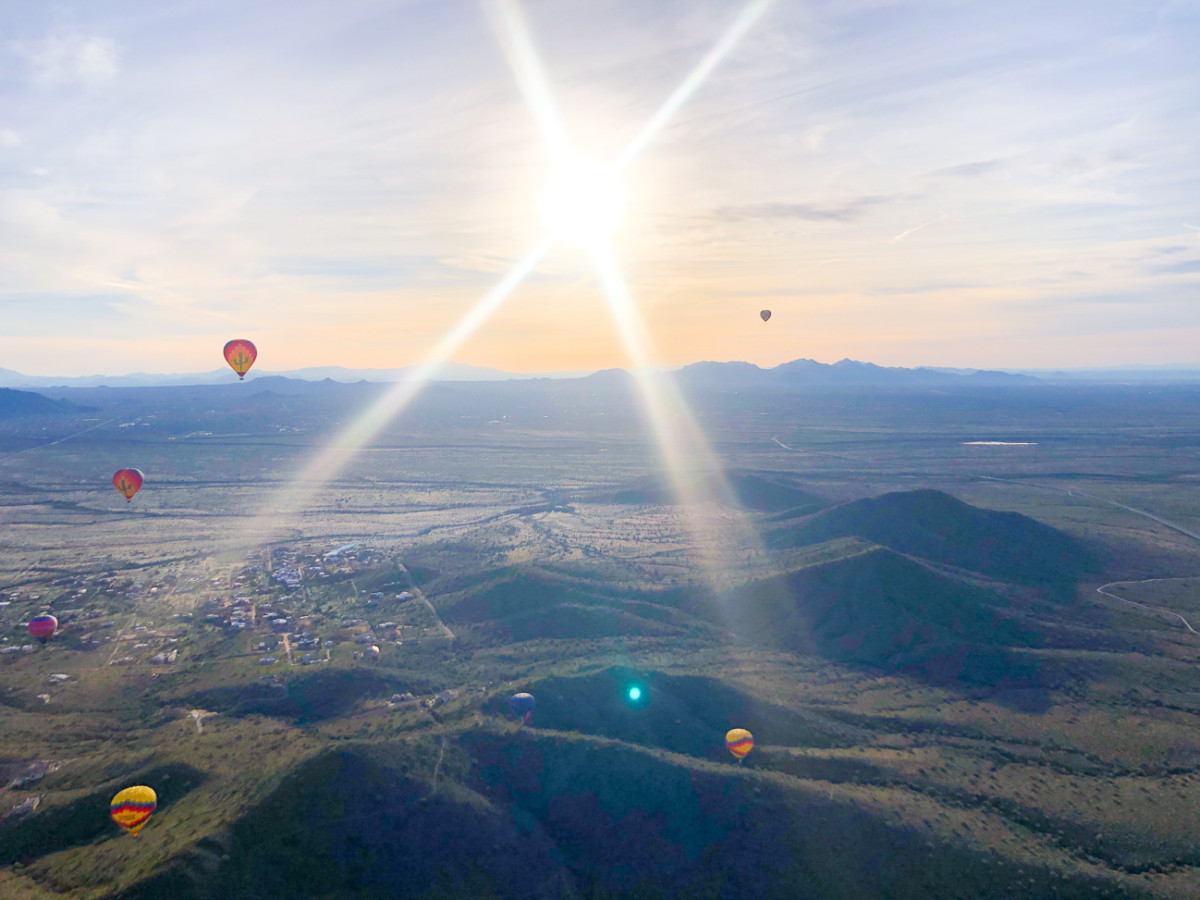 An Unforgettable Hot Air Balloon Ride in Phoenix with Hot Air Expeditions | Cobalt Chronicles | Houston Travel Blogger