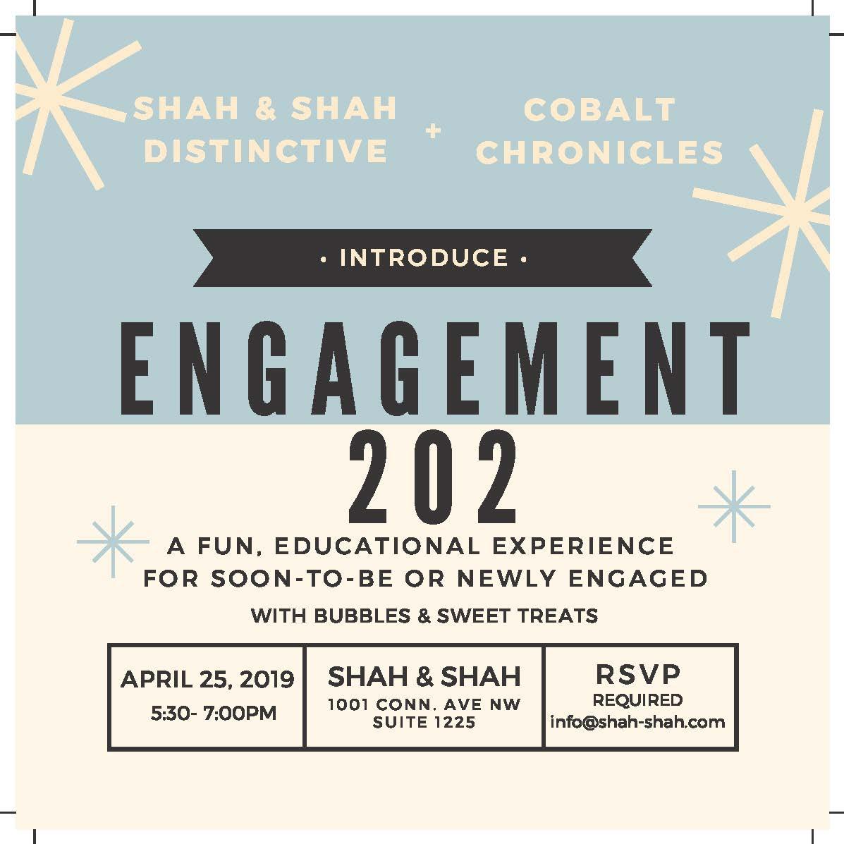 Cobalt Chronicles   Shah & Shah Event