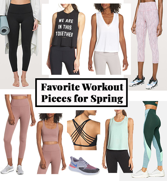 Favorite Workout Pieces for Spring | Cobalt Chronicles | Houston Style Blogger