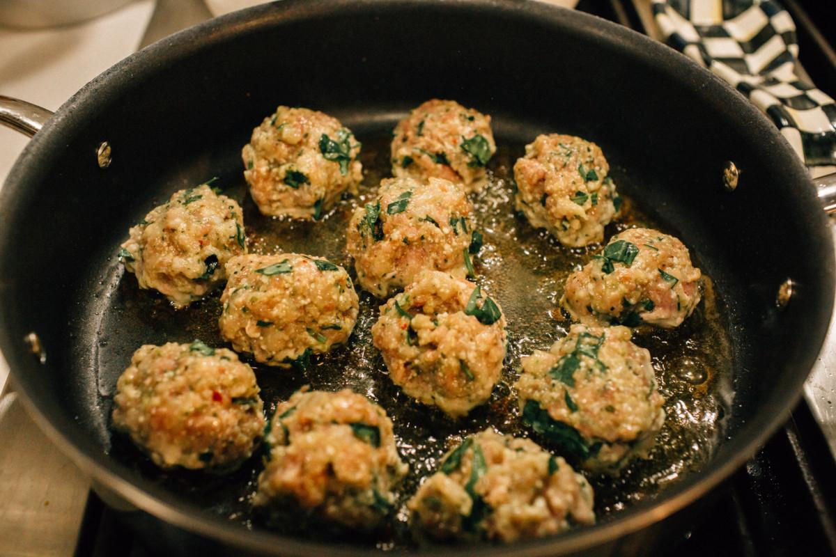 Favorite Healthy Weeknight Recipes | Turkey Meatballs