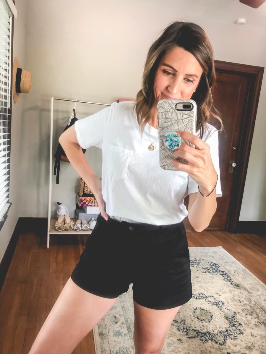 Everlane Shorts | Cobalt Chronicles | Houston Style Blogger