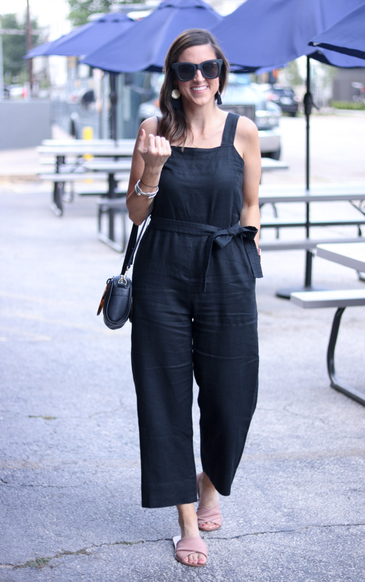Everlane Jumpsuit | Cobalt Chronicles | Houston Style Blogger