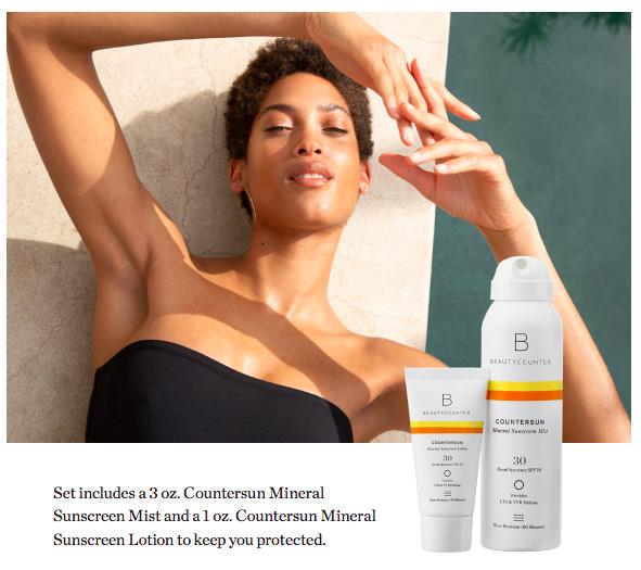 Beautycounter Sunscreen   Cobalt Chronicles   Houston Wellness Blogger