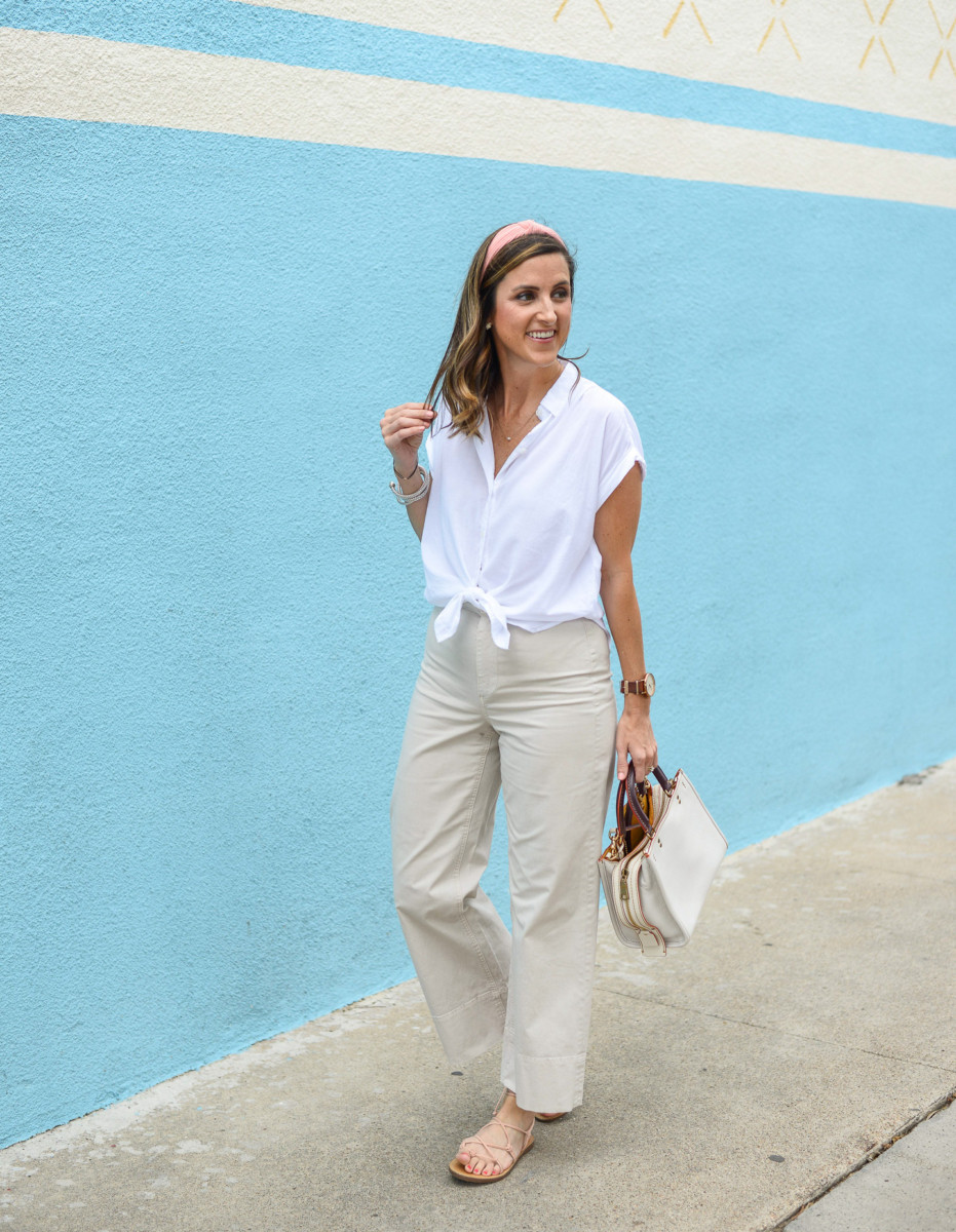 Everlane Wide Leg Chinos | Cobalt Chronicles | Houston Style Blogger