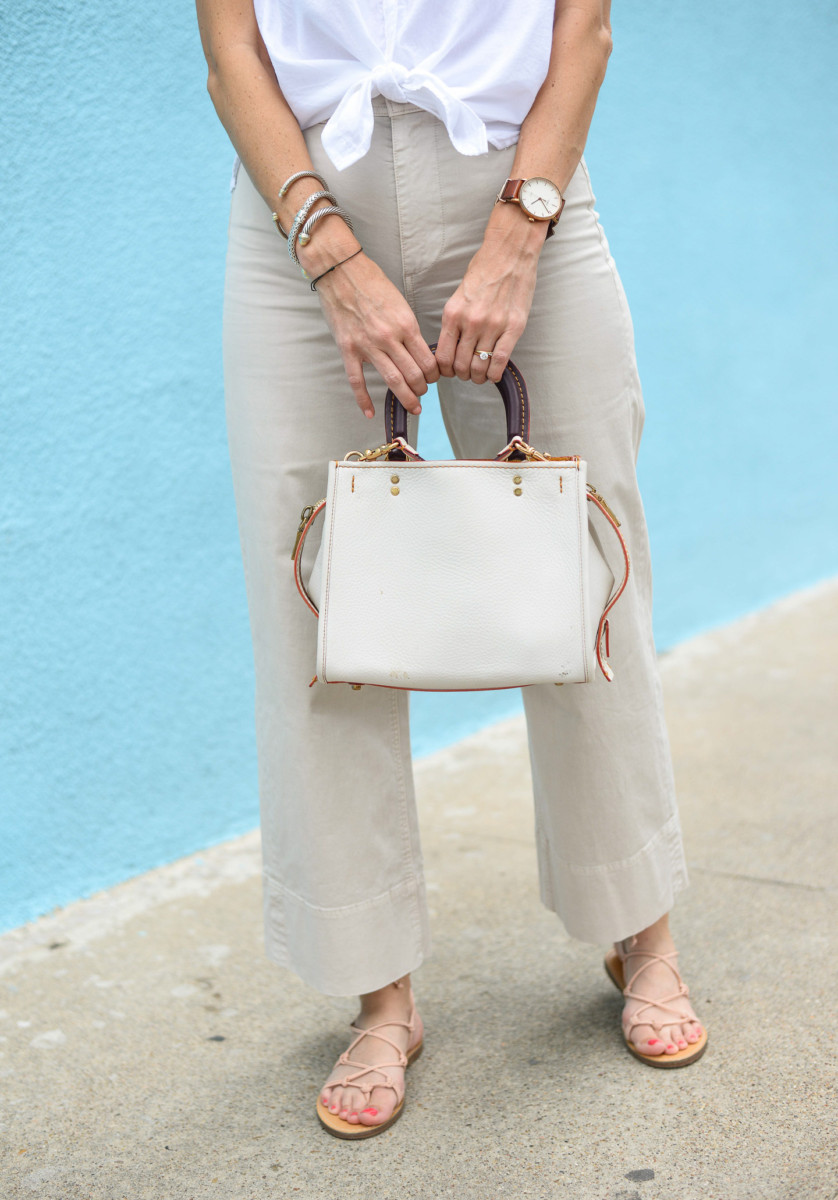 Everlane Wide Leg Chino | Cobalt Chronicles | Houston Style Blogger