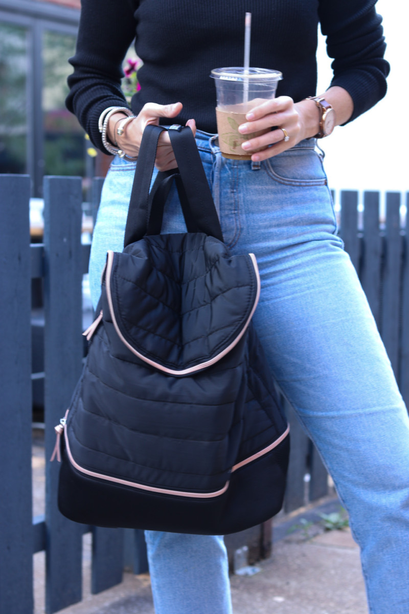 Stella & Dot's Crush It Backpack, a Versatile Travel Bag | Cobalt Chronicles | Houston Style Blogger