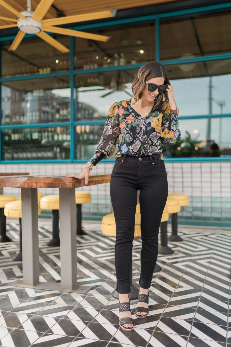 cabi Fall Collection | Snake Charmer Blouse | Cobalt Chronicles | Houston Style Blogger