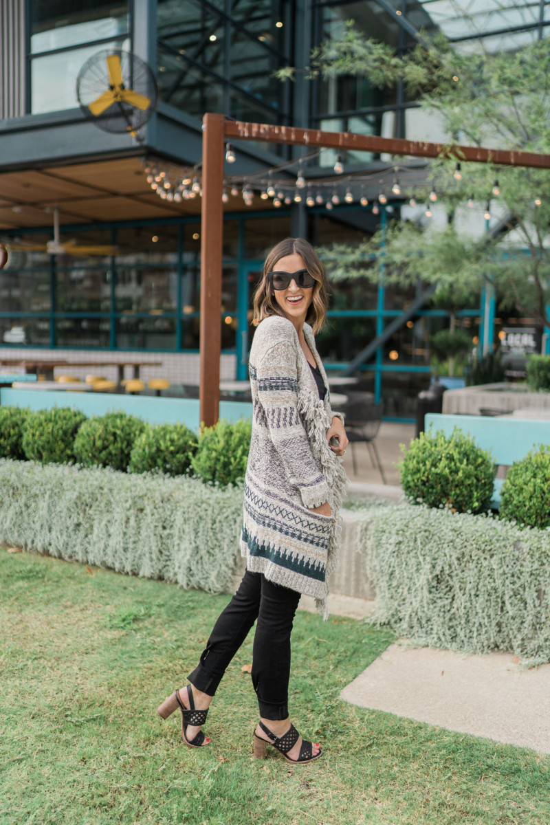 cabi Fall Collection | Shetland Sweater | Cobalt Chronicles | Houston Style Blogger