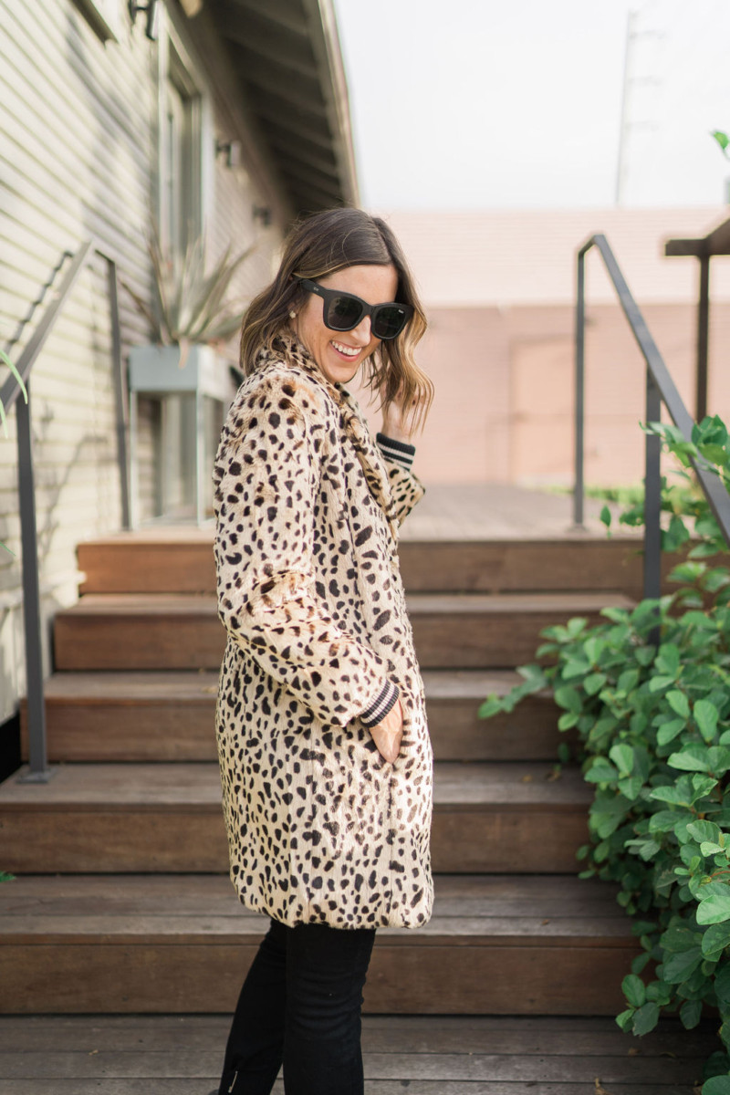 cabi Fall Collection | Leopard Coatt | Cobalt Chronicles | Houston Style Blogger