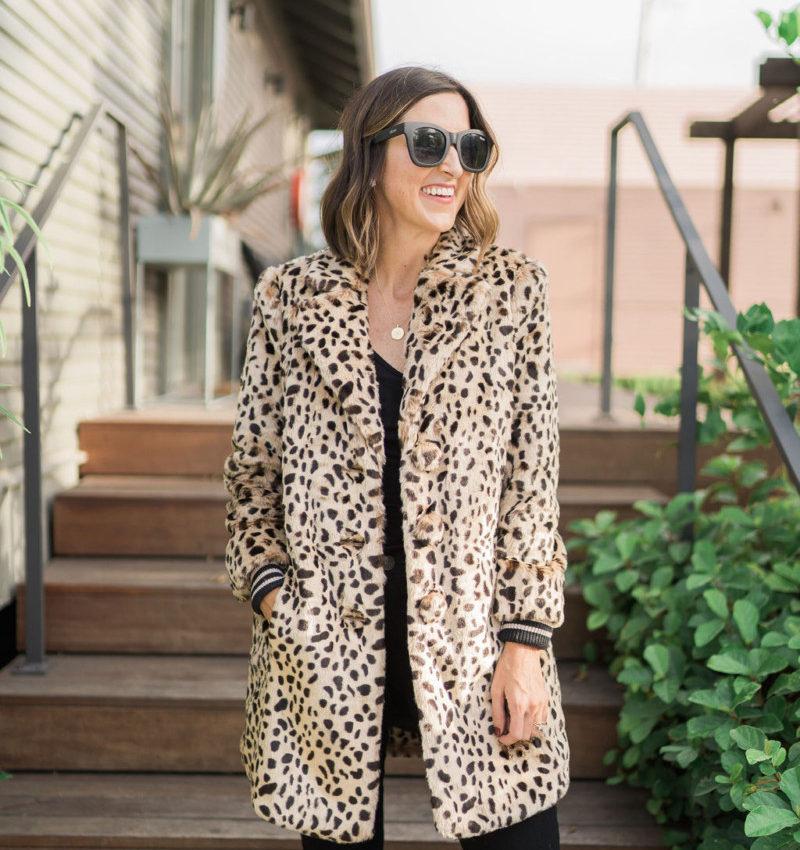 cabi Fall Collection   Leopard Coatt   Cobalt Chronicles   Houston Style Blogger