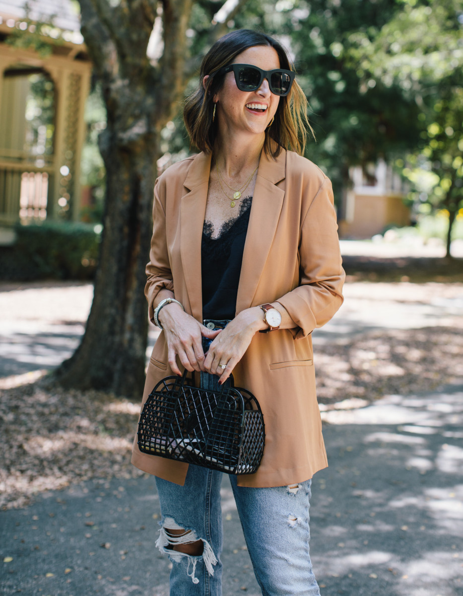 How to Style an Oversized Blazer for Fall | Cobalt Chronicles | Houston Style Blogger