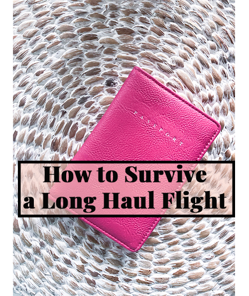 How to Survive a Long Haul Flight | Cobalt Chronicles | Houston Travel Blogger