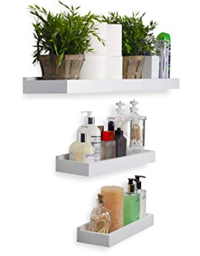 Amazon Floating Shelves | Cobalt Chronicles