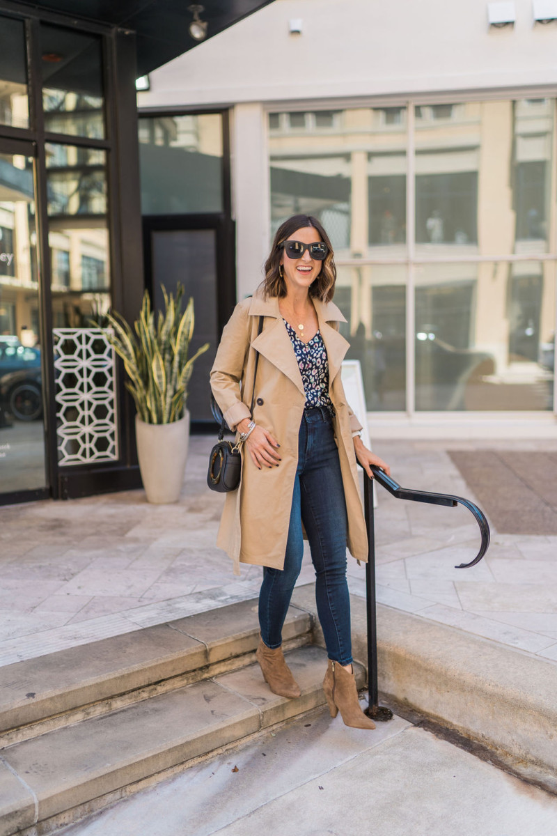 The Best Trench Coat | Cobalt Chronicles | Houston Style Blogger