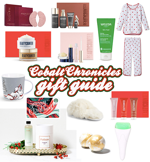 Treat Yourself Gift Guide | Cobalt Chronicles Gift Guide
