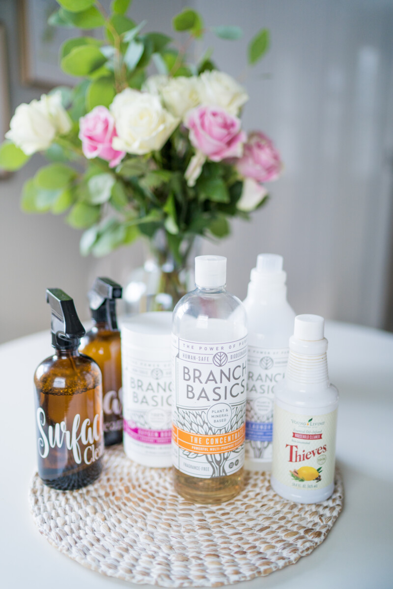 Non-Toxic Household Cleaning Essentials | Cobalt Chronicles | Houston Lifestyle Blogger