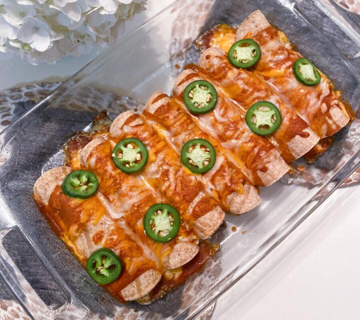 Easy Chicken Enchilada Recipe | Cobalt Chronicles | Houston Lifestyle Blogger