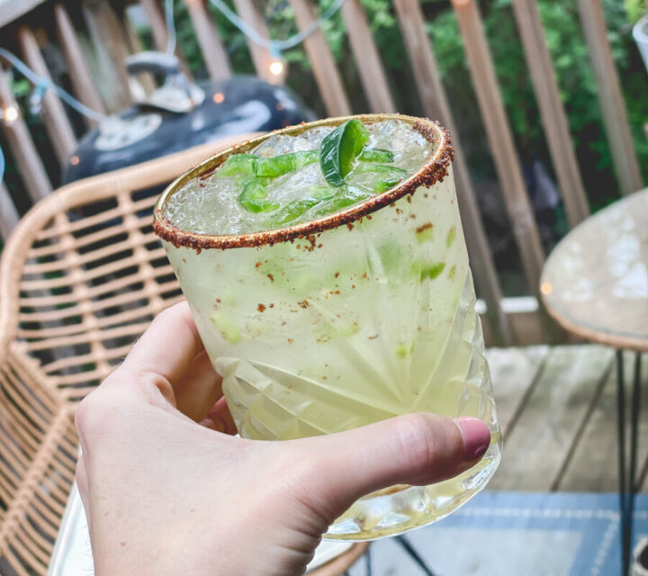 Simple Spicy Margarita Recipe | Cobalt Chronicles | Houston Lifestyle Blogger
