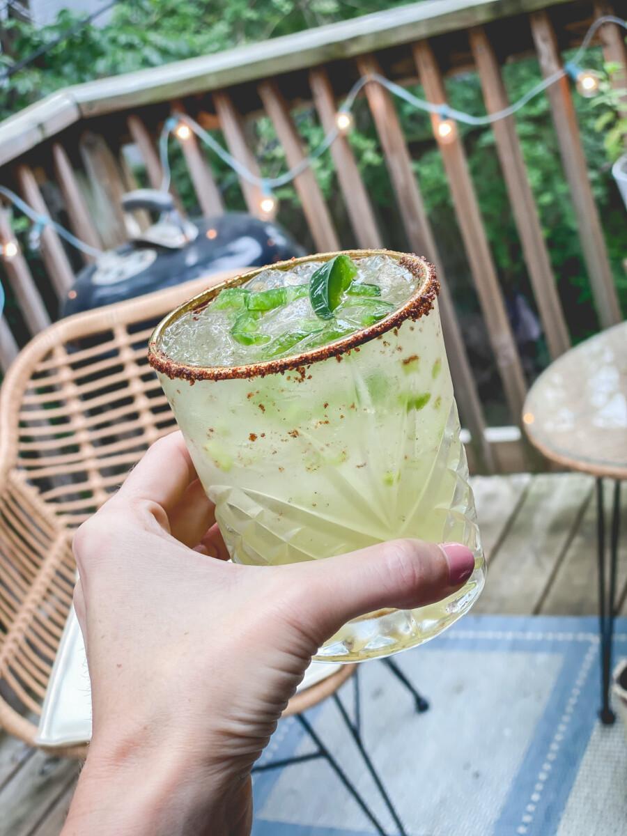 Simple Spicy Margarita Recipe | Cobalt Chronicles | Houston Lifestyle Blogger