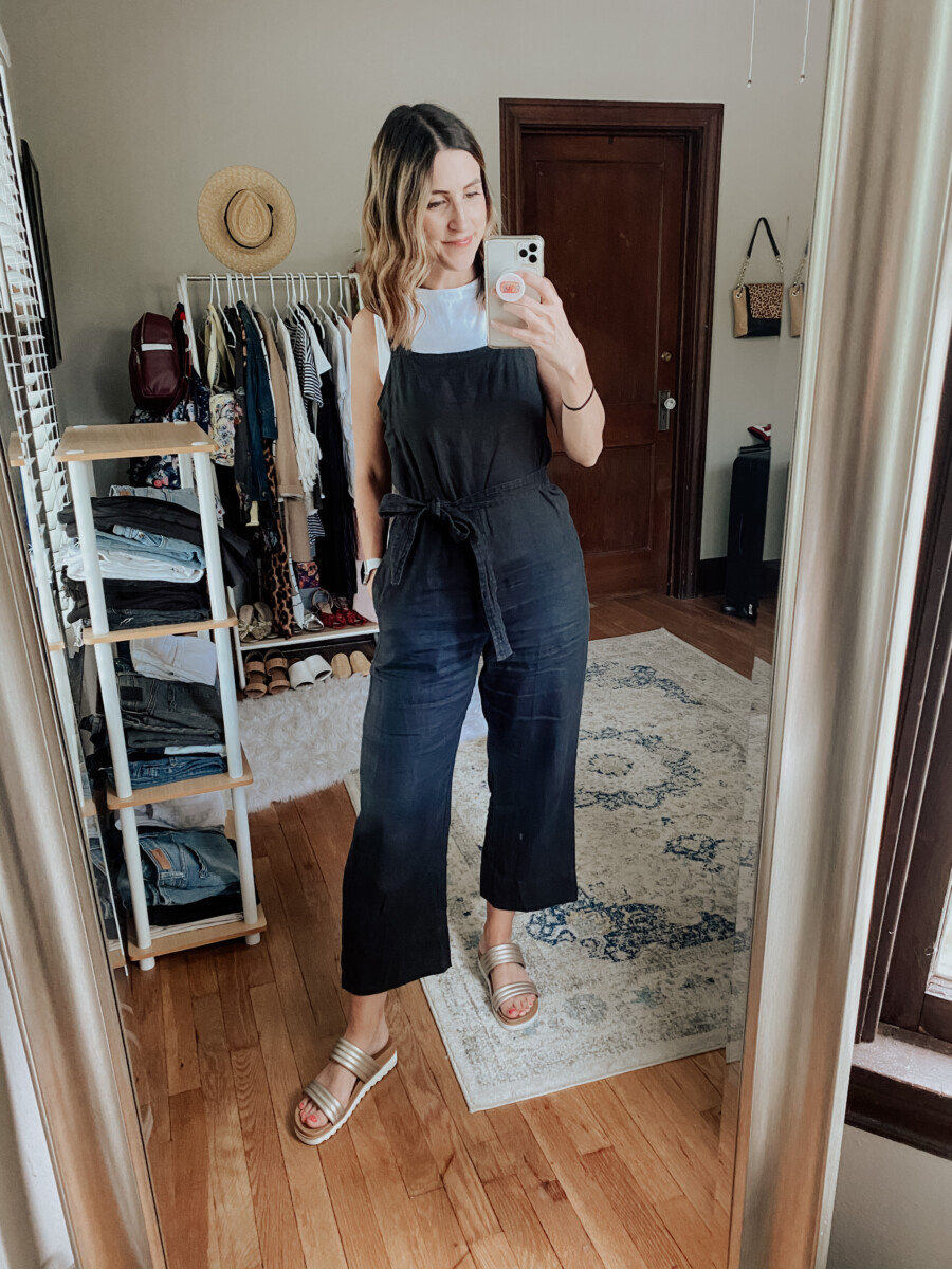 Everlane Jumpsuit | Style Session | Cobalt Chronicles
