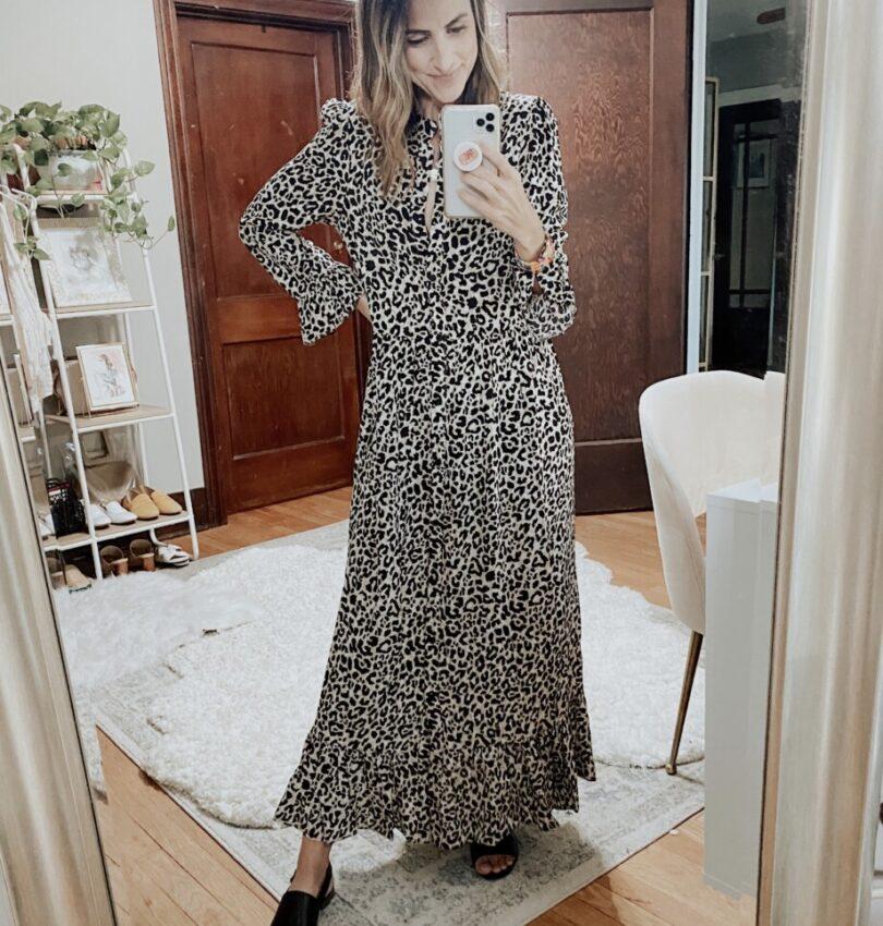 July Recap   Leopard Dress