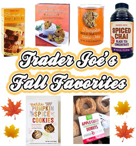 Trader Joe's Fall Items