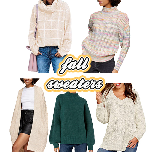 Five Best Fall Sweaters