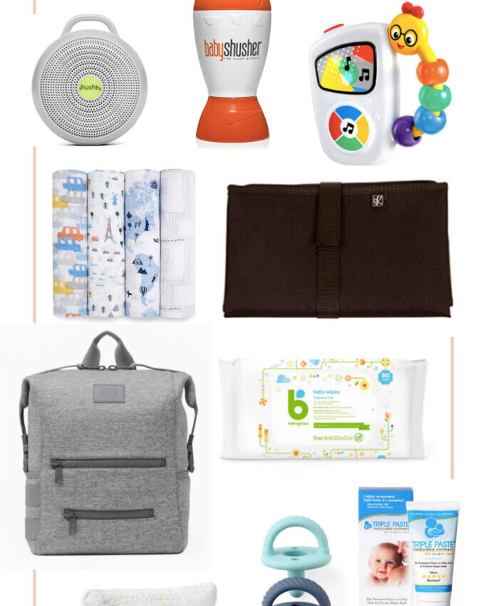 Roadtrip Essentials for Baby